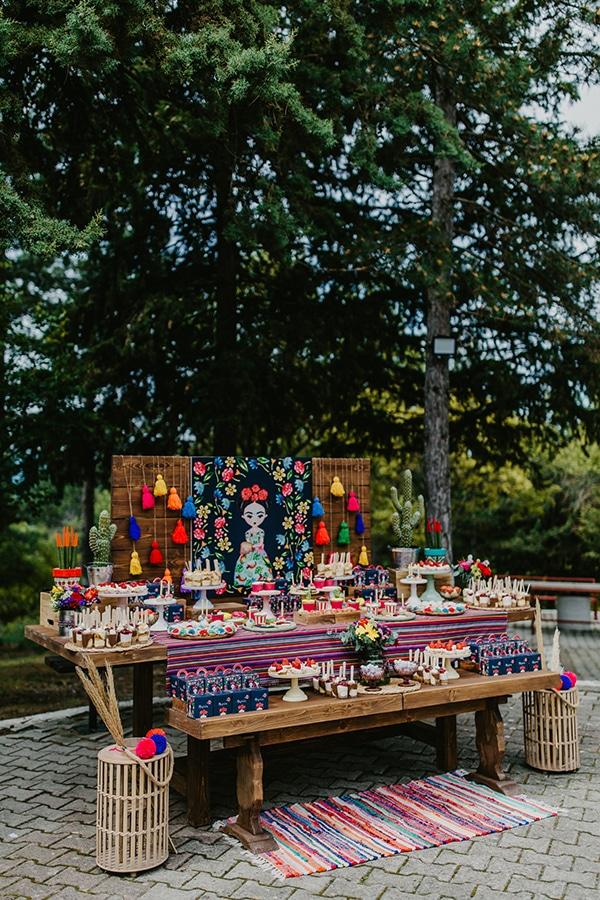 colorful-bohemian-baptism-ideas-theme-frida-kahlo_06