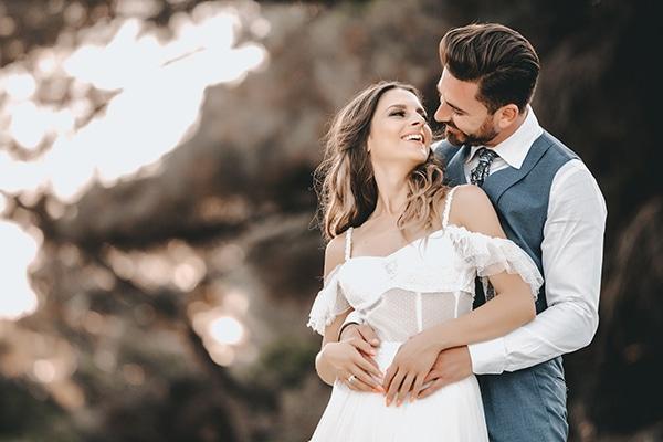 Colorful καλοκαιρινός γάμος στη Θεσσαλονίκη με ρουστίκ στοιχεία│ Χρύσα & Παναγιώτης