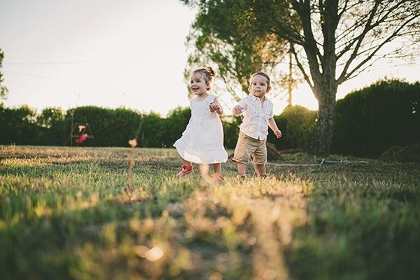 Αξιολάτρευτο family shoot στο πάρκο