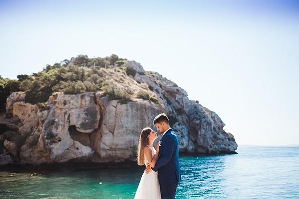 Όμορφος καλοκαιρινός γάμος στην Αθήνα με ρομαντικά στοιχεία│ Ειρήνη & Αινείας